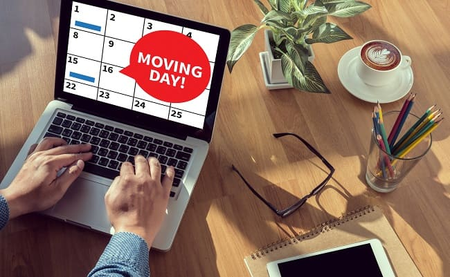 Schedule office movers, office movers