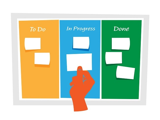 develop a timeline, office movers